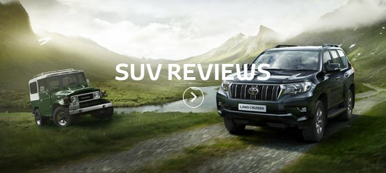 <h5>See what others had to say about our SUVs</h5>