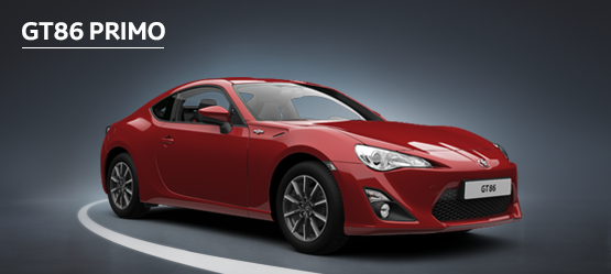 GT86 Primo from £281 + VAT per month† (Contract Hire)