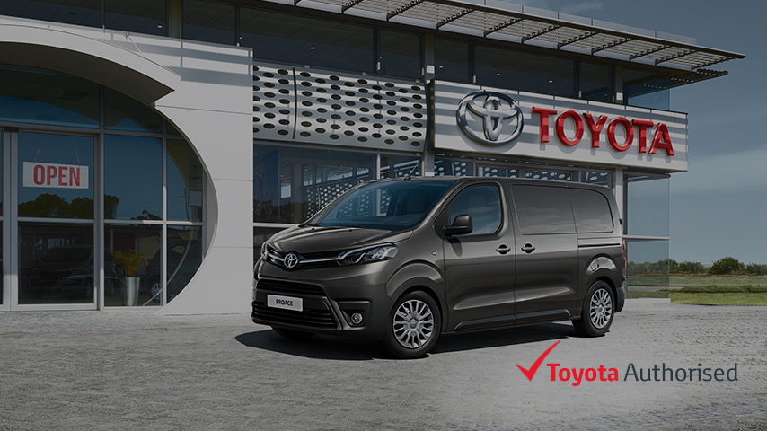Toyota Bespoke Commercial Vehicle Conversions | Toyota UK