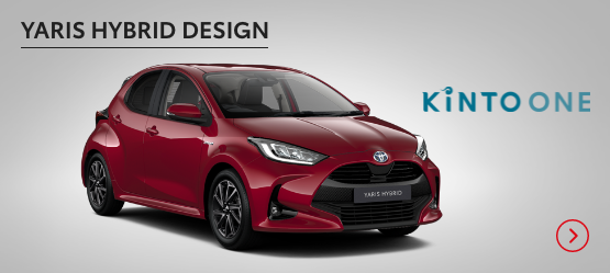 All New Yaris Hybrid Design £230+ VAT per month* (Customer maintained)