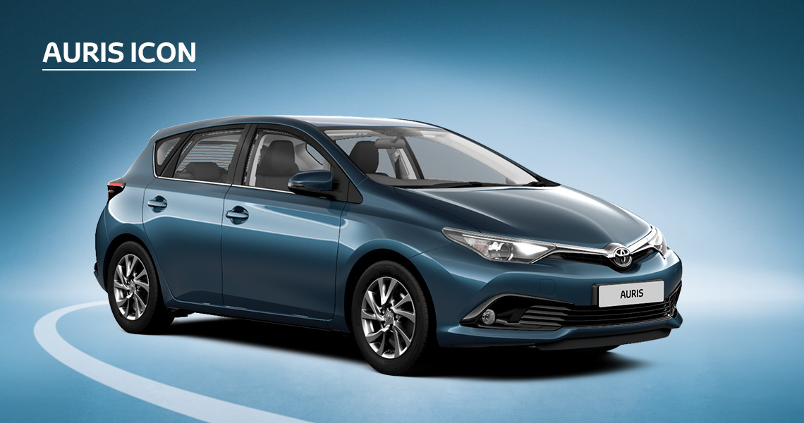Auris Icon inc Toyota Safety Sense with Nil advance payment (Motability Users Only).