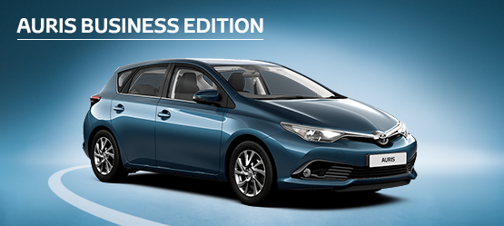 Auris Business Edition from £165 + VAT per month† (Contract Hire)