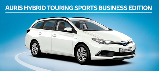 Auris Hybrid Touring Sports Business Edition from £209 + VAT per month† (Contract Hire)