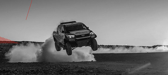 The tougher, the better: Toyota at the Dakar Rally