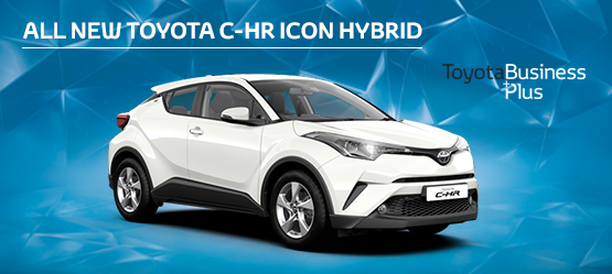 All New Toyota C-HR Hybrid £199 + VAT per month* (Non-Maintained Contract Hire)