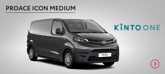 PROACE Icon Medium £237+ VAT per month* (Customer maintained)