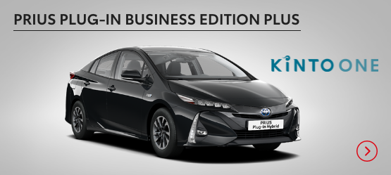 Prius Plug-in Business Edition Plus £328 + VAT per month* (Customer maintained)