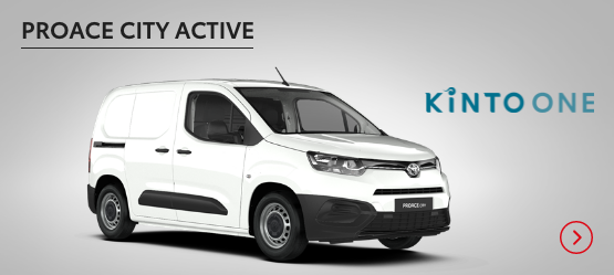 PROACE CITY Active £198+ VAT per month* (Customer maintained)