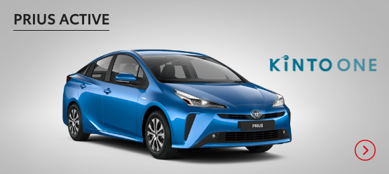 Prius Active £234 + VAT per month* (Customer maintained)