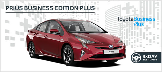 "<h3 style=""text-align: left;""><strong>Prius Business Edition Plus from £229 + VAT per month* (Customer maintained)</h3></strong>"