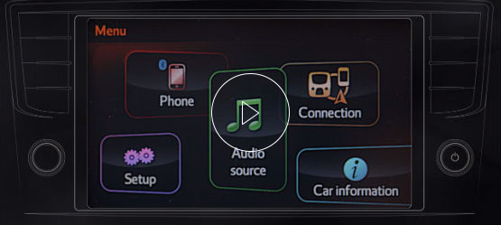 x-touch system with play button