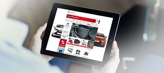 Quality guaranteed with Toyota eBay store