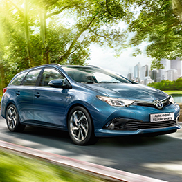 Auris Touring Sports testna vožnja