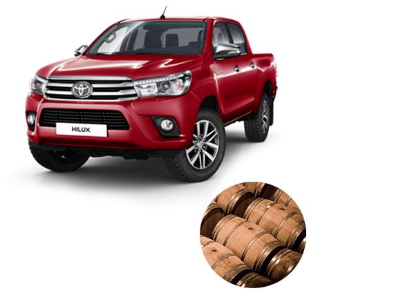 Toyota Hilux - Külső nézet