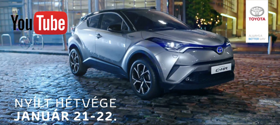 Toyota C-HR TV reklám