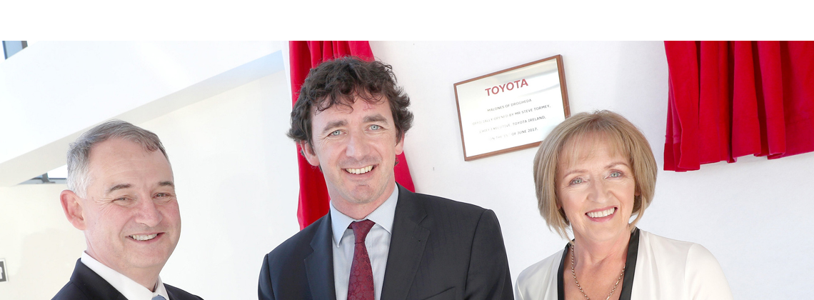 Malone's of Drogheda open state of the art Toyota Dealership