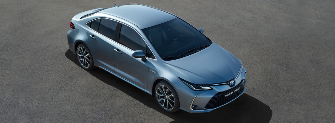 The All New 2019 Toyota Corolla Saloon Hybrid Toyota Ireland