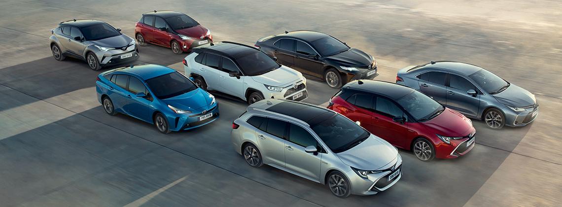 Explore The 2019 Toyota Hybrid Range
