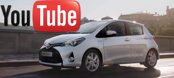 New Toyota Yaris Hybrid - the Musical City