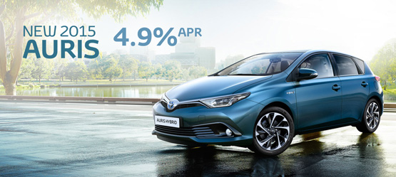 Drive a New Auris from €20,750 or €199 a month*