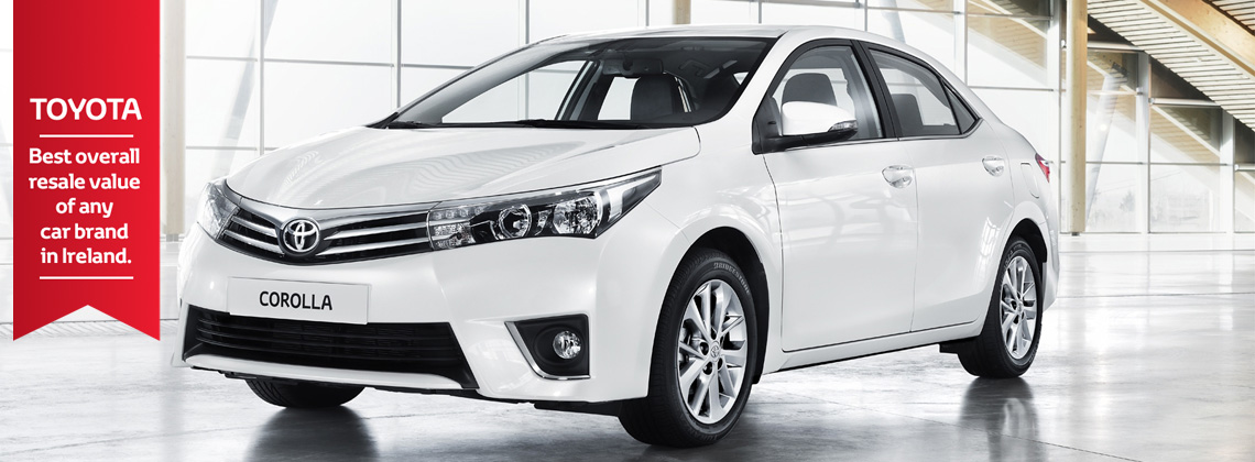 Toyota No. 1 for Re-Sale Value in Ireland