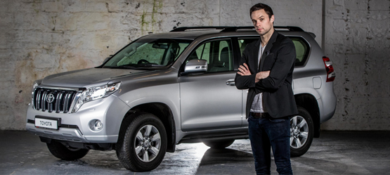 Toyota Ireland Announces Niall Breslin as new Ambassador for its  'Built for a Better World' Brand Programme
