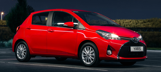 Upgrade to Yaris Luna for €505 or €5 per month*