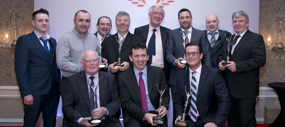 Toyota Ireland Announces Winners of the Annual  Dealer of the Year Awards 2016