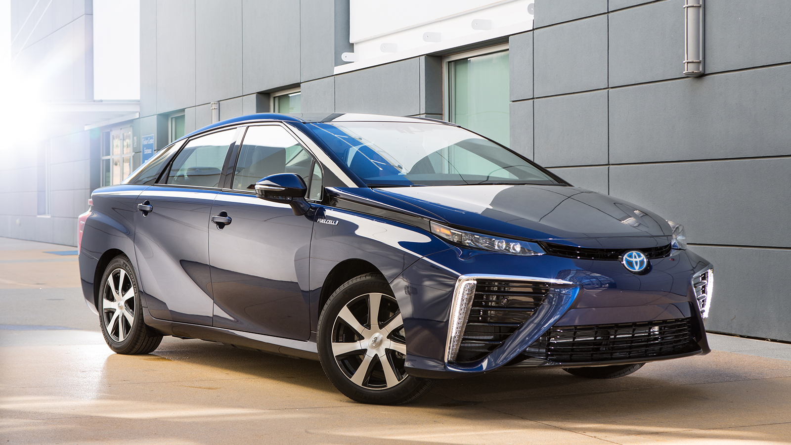 launch of toyota mirai fuel cell saloon. Black Bedroom Furniture Sets. Home Design Ideas