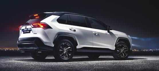 The All New 2019 Toyota Rav4 Self Charging Hybrid Toyota Ireland