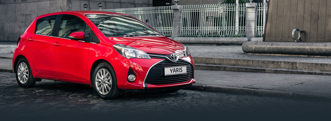 Yaris now with FREE Style Pack worth €750 on Luna