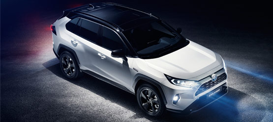 The all-new Toyota RAV4.