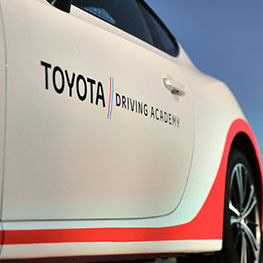 Toyota driving academy