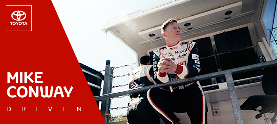 Driven: Mike Conway