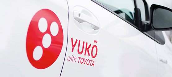YUKÕ with TOYOTA. Share the Hybrid.