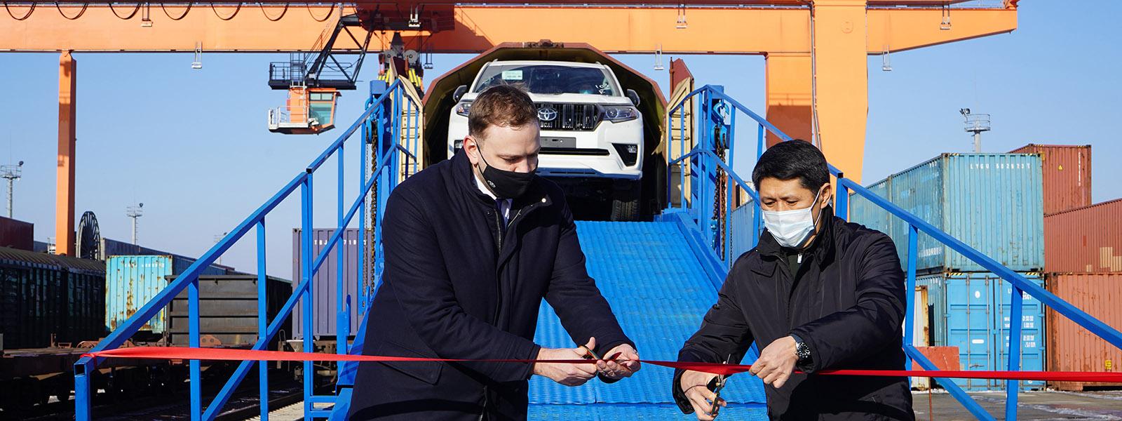 Доставка Тойота в Казахстан
