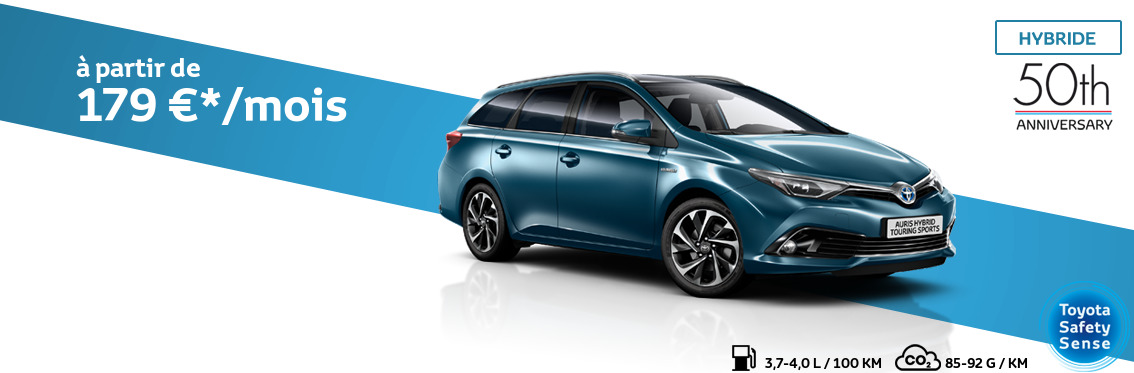 Auris Touring Sports 1.8 Hybride Comfort avec pack 50th Anniversary