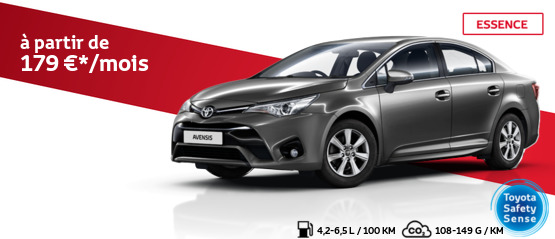 Avensis Berline 1.6 Essence Active