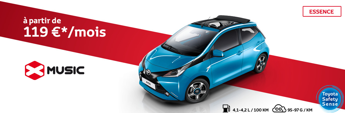 AYGO 1.0 Essence x-play avec pack x-music 3 portes