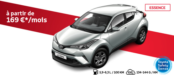 Toyota C-HR 1.2 Turbo Essence C-ITY 4×2