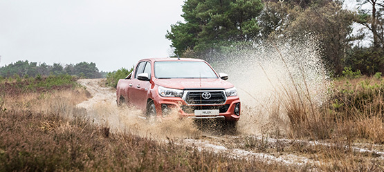 Toyota Hilux nu ook als extra stoere Executive