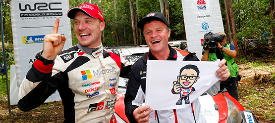 Toyota is wereldkampioen rally