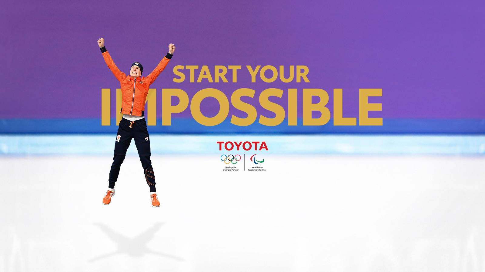 Toyota Chr Hybrid >> Ireen Wust tijdens de Olympische Spelen 2018 | Toyota