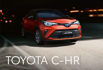 Toyota C-HR - Prijzen en specificaties