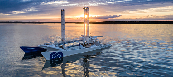 Toyota Energy Observer on water