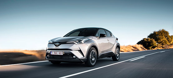 Toyota C-HR wint van VW T-Roc in ANWB-test