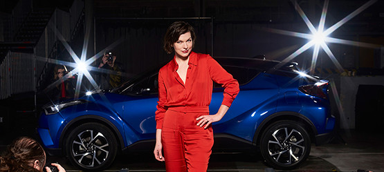 Lancering Toyota C-HR The Night That Flows Londen