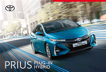 Prius Plug-in - Model Brochure