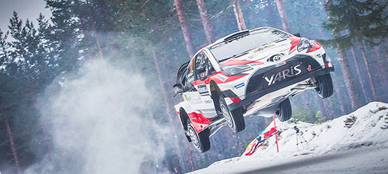 The sky's the limit. Toyota i verdensmesterskapet i rally