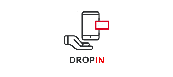 Drop-in - Ikona
